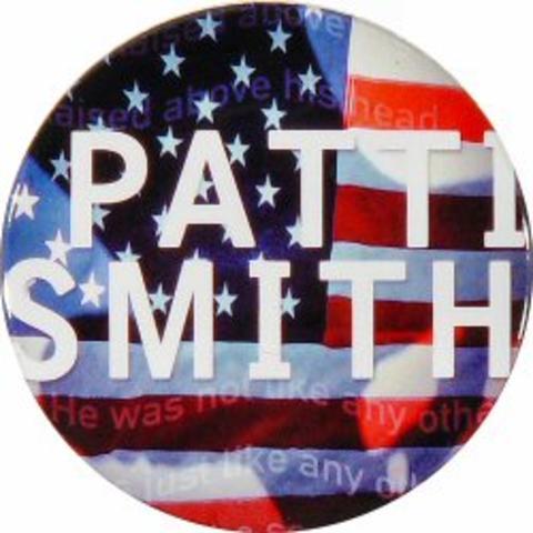 Patti Smith Pin