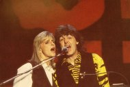 Paul and Linda McCartney Postcard