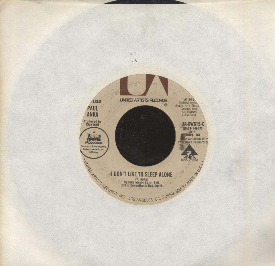 Paul Anka Vinyl 7 Quot Used 1975 At Wolfgang S