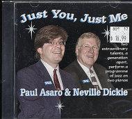 Paul Asaro & Neville Dickie CD