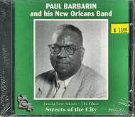 Paul Barbarin and His New Orleans Band CD