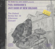 Paul Barbarin's Jazz Band Of New Orleans CD