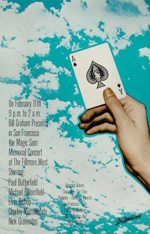 Paul Butterfield Poster