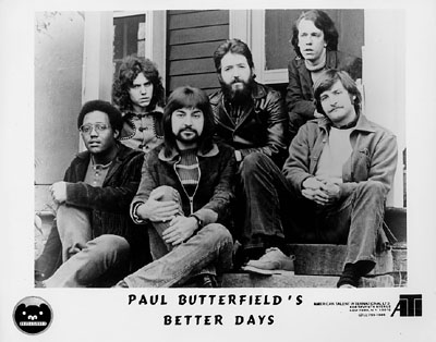 Paul Butterfield's Better Days Promo Print