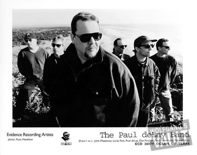 Paul DeLay Band Promo Print