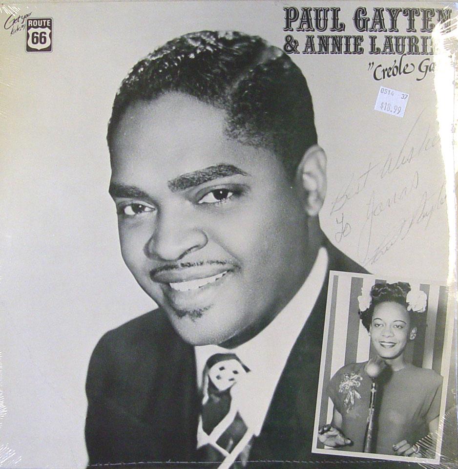"""Paul Gayten Vinyl 12"""" (New)"""