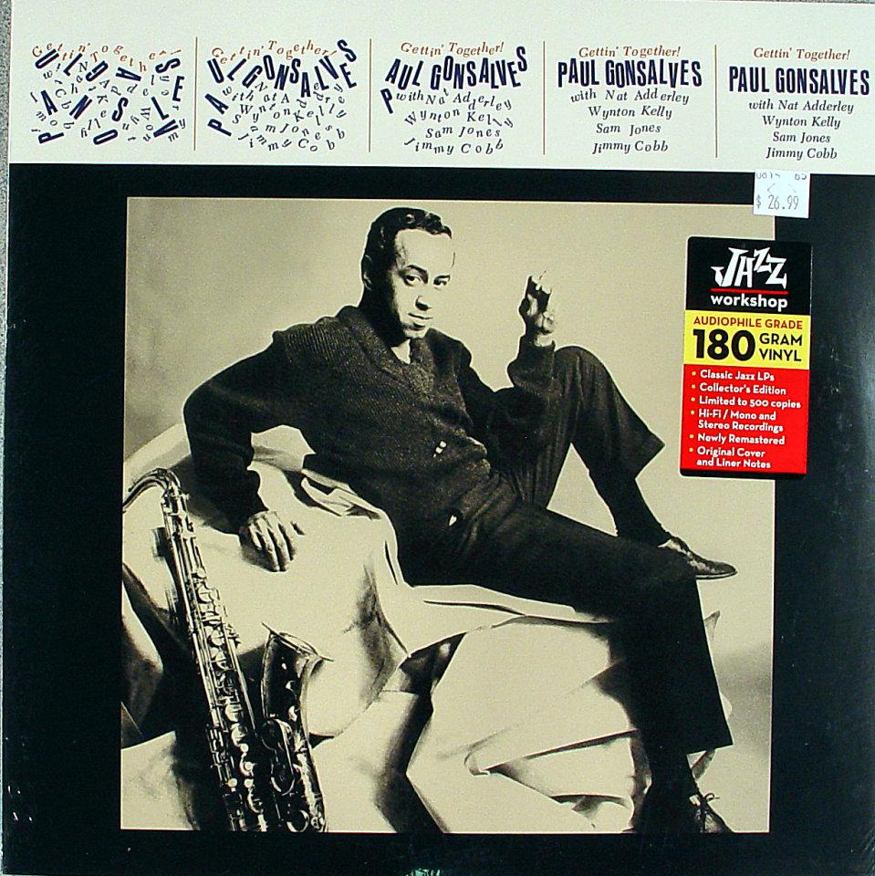 """Paul Gonsalves Vinyl 12"""" (New)"""