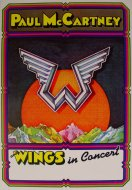 Paul McCartney & Wings Program