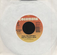 "Paul McCartney / Michael Jackson Vinyl 7"" (Used)"