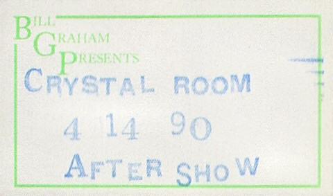 Paul McCartney Backstage Pass