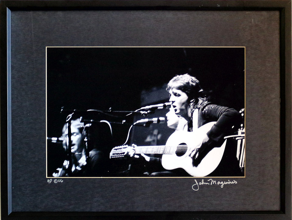 Paul McCartney Framed Vintage Print