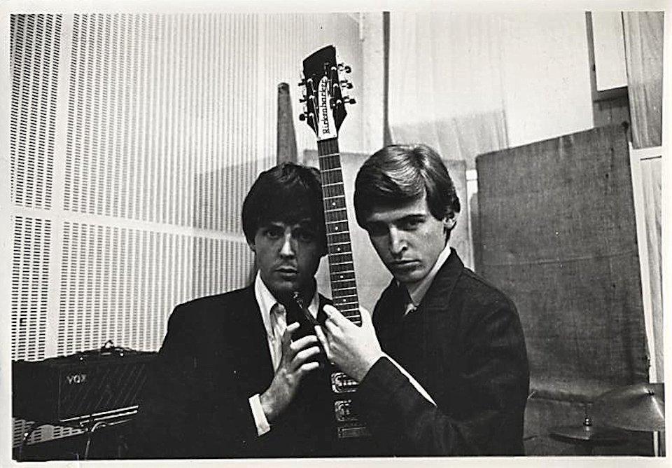 Paul McCartney Vintage Print