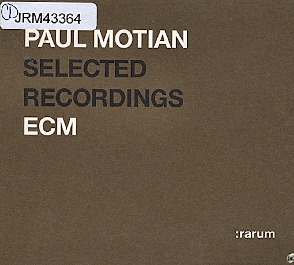 Paul Motian CD