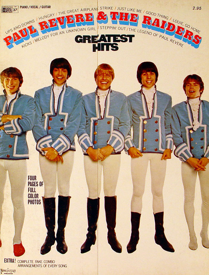 Paul Revere & The Raiders Greatest Hits
