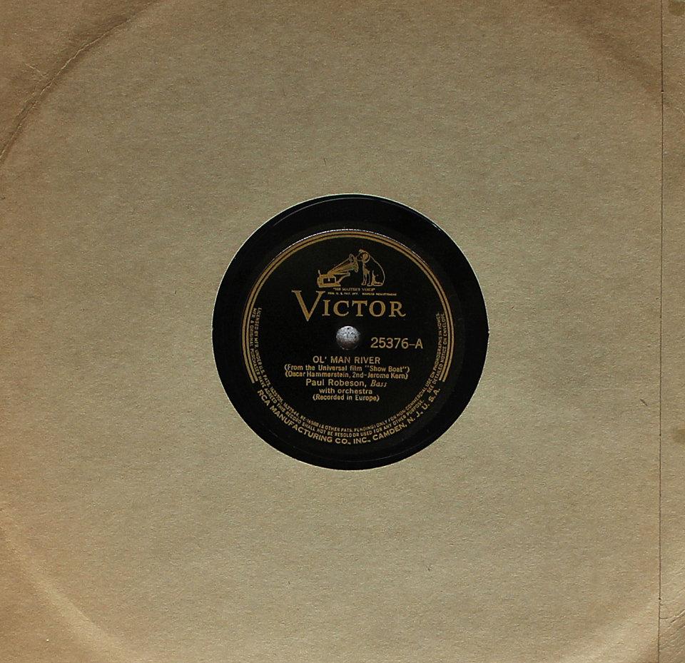 Paul Robeson / Elisabeth Welch 78