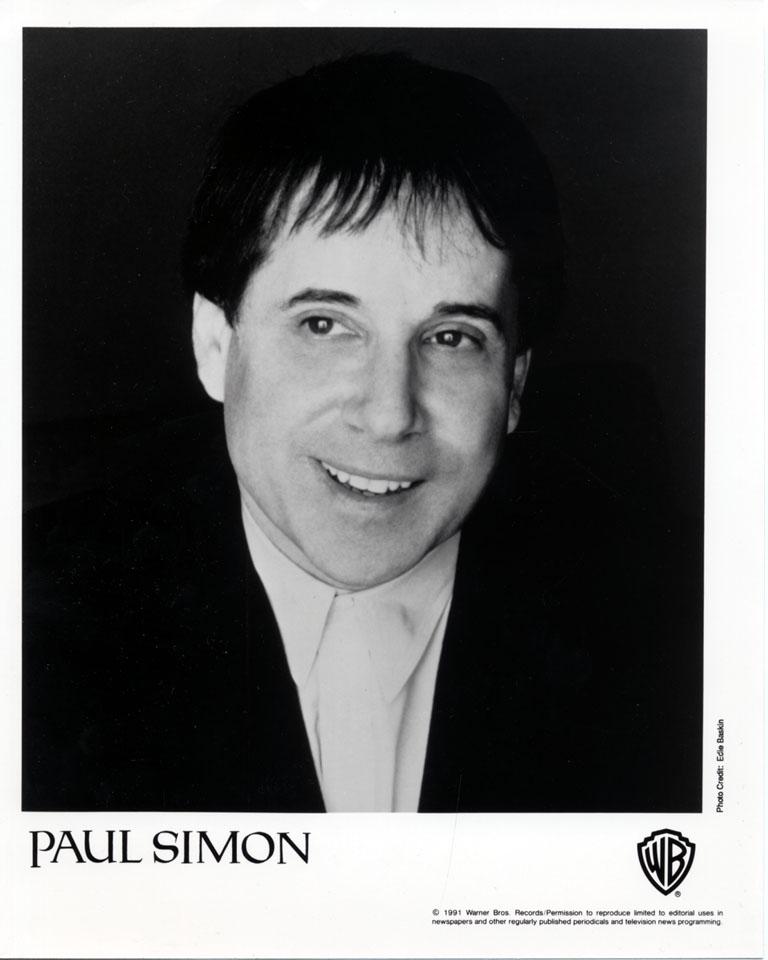 Paul Simon Promo Print