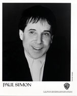 Paul Simon Promo Print