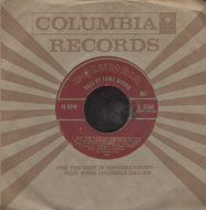 "Paul Weston & His Orchestra Vinyl 7"" (Used)"