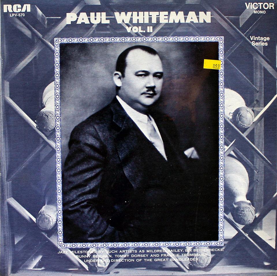 """Paul Whiteman Vinyl 12"""" (New)"""