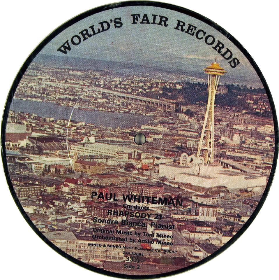 """Paul Whiteman Vinyl 7"""" (Used)"""