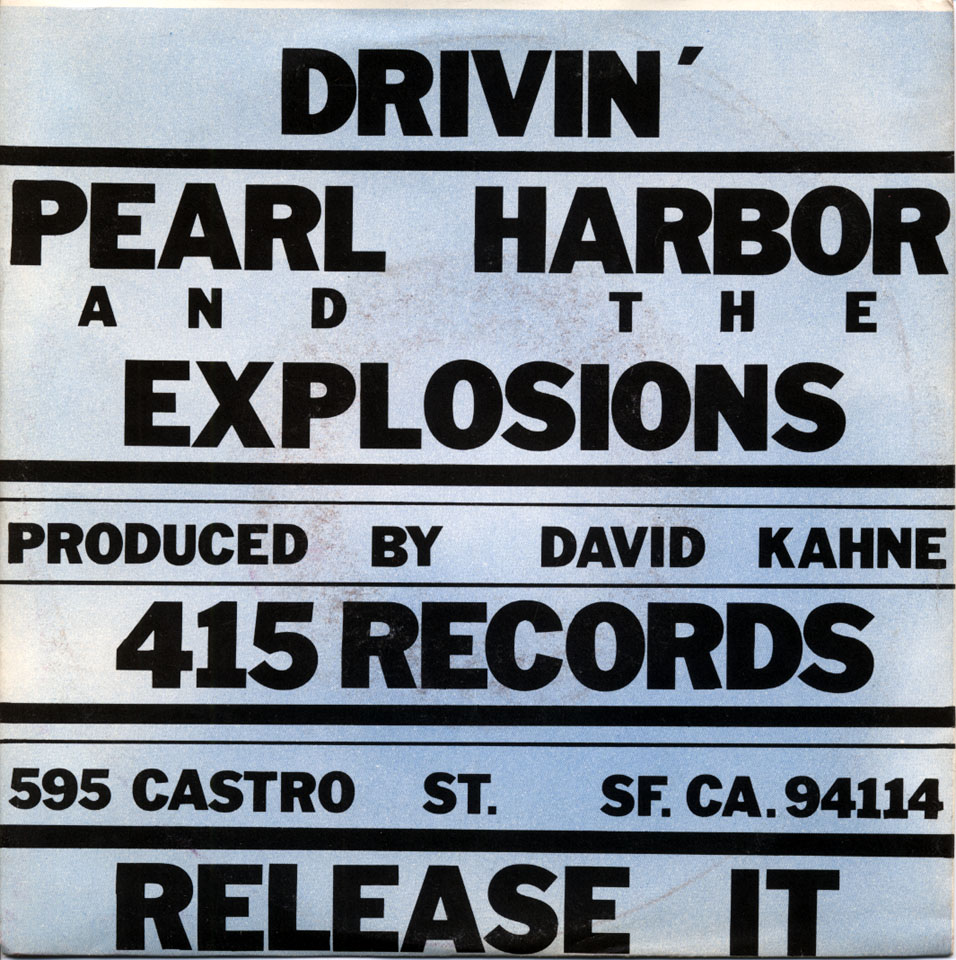 "Pearl Harbor and the Explosions Vinyl 7"" (Used)"