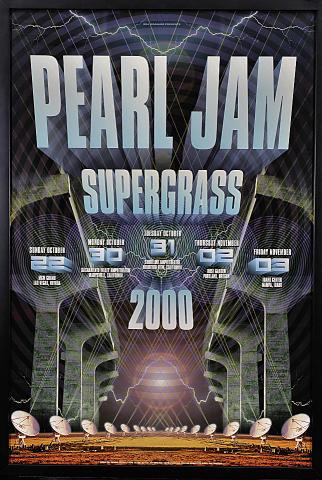 Pearl Jam Framed Poster