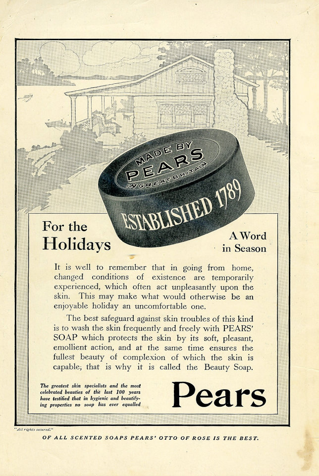 Pears Soap Vintage Ad