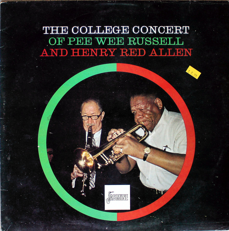 """Pee Wee Russell And Henry """"Red"""" Allen Vinyl 12"""" (Used)"""