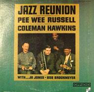 """Pee Wee Russell / Coleman Hawkins Vinyl 12"""" (Used)"""