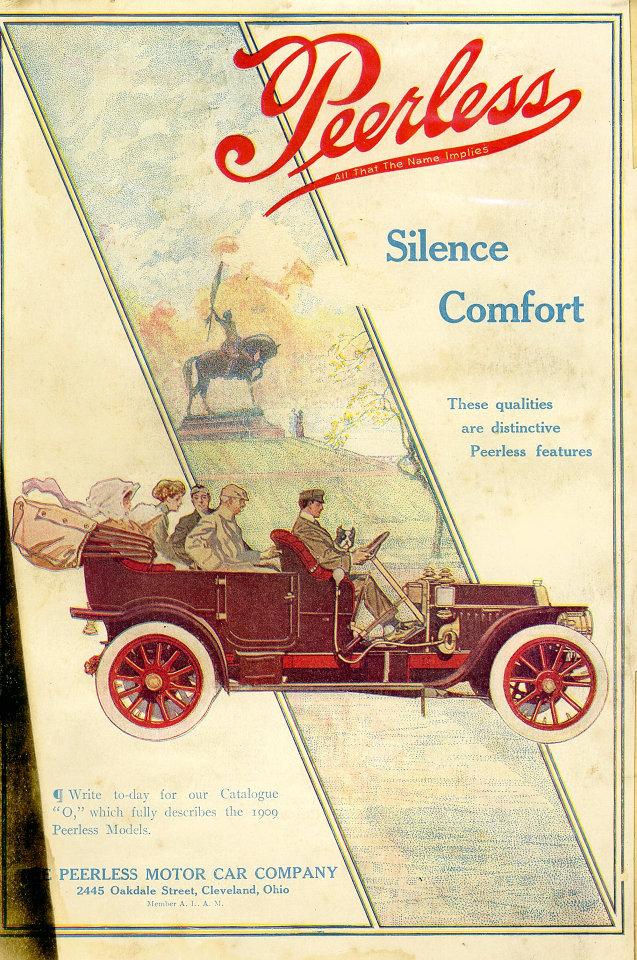 Peerless Vintage Ad