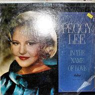 """Peggy Lee Vinyl 12"""" (Used)"""