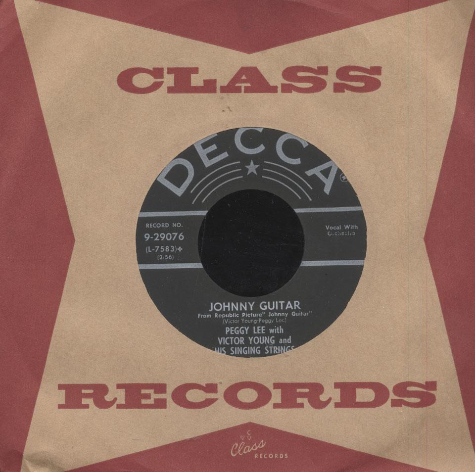 """Peggy Lee Vinyl 7"""" (Used)"""