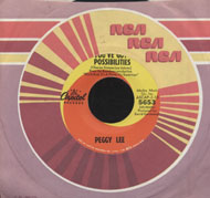 "Peggy Lee Vinyl 7"" (Used)"
