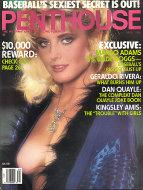 Penthouse Magazine April 1989 Magazine