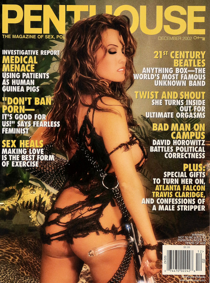 penthouse vol 34 no 4 magazine dec 1 2002 at wolfgang 39 s. Black Bedroom Furniture Sets. Home Design Ideas