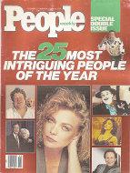 People Magazine December 25, 1989 Magazine