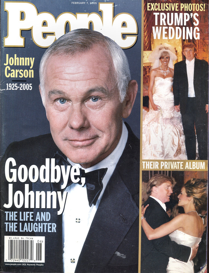 People Magazine February 07, 2005