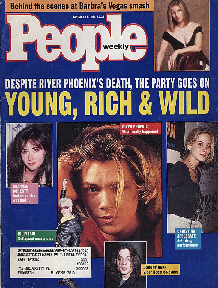 People Magazine January 17, 1994