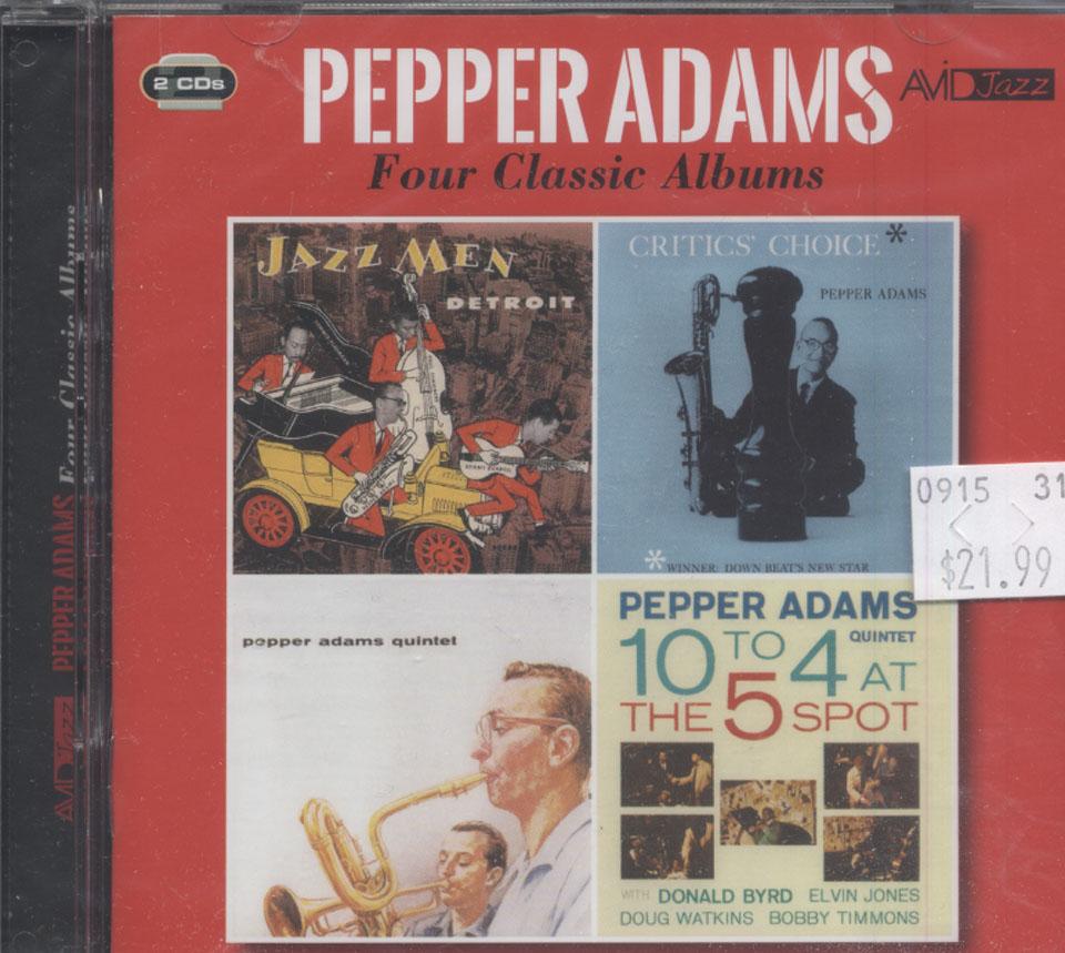 Pepper Adams CD