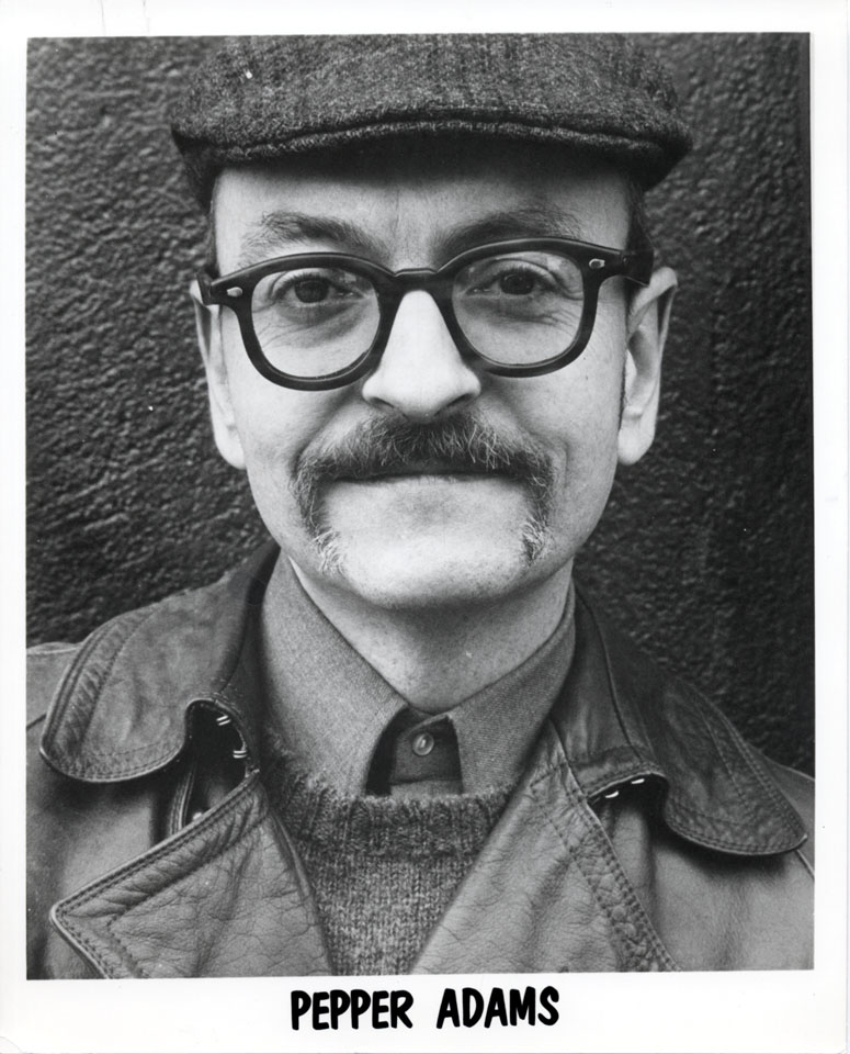 Pepper Adams Promo Print