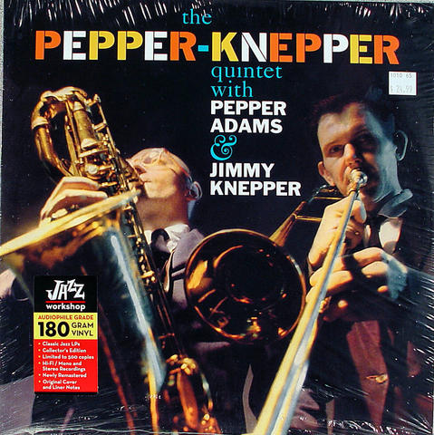 "Pepper-Knepper Quintet Vinyl 12"" (New)"