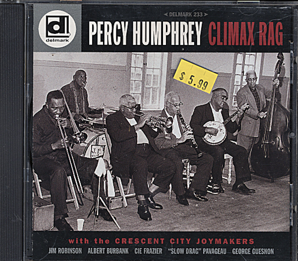 Percy Humphrey CD