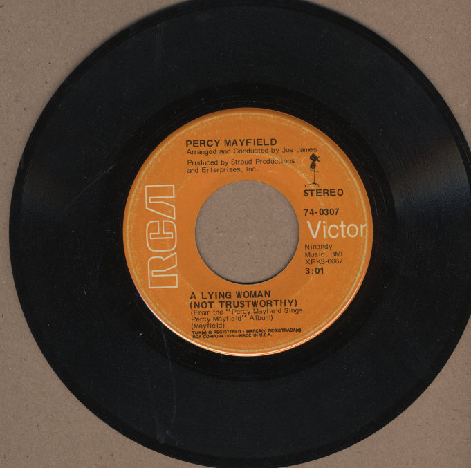 """Percy Mayfield Vinyl 7"""" (Used)"""