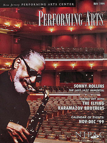 Performing Arts Magazine November 1999 Magazine