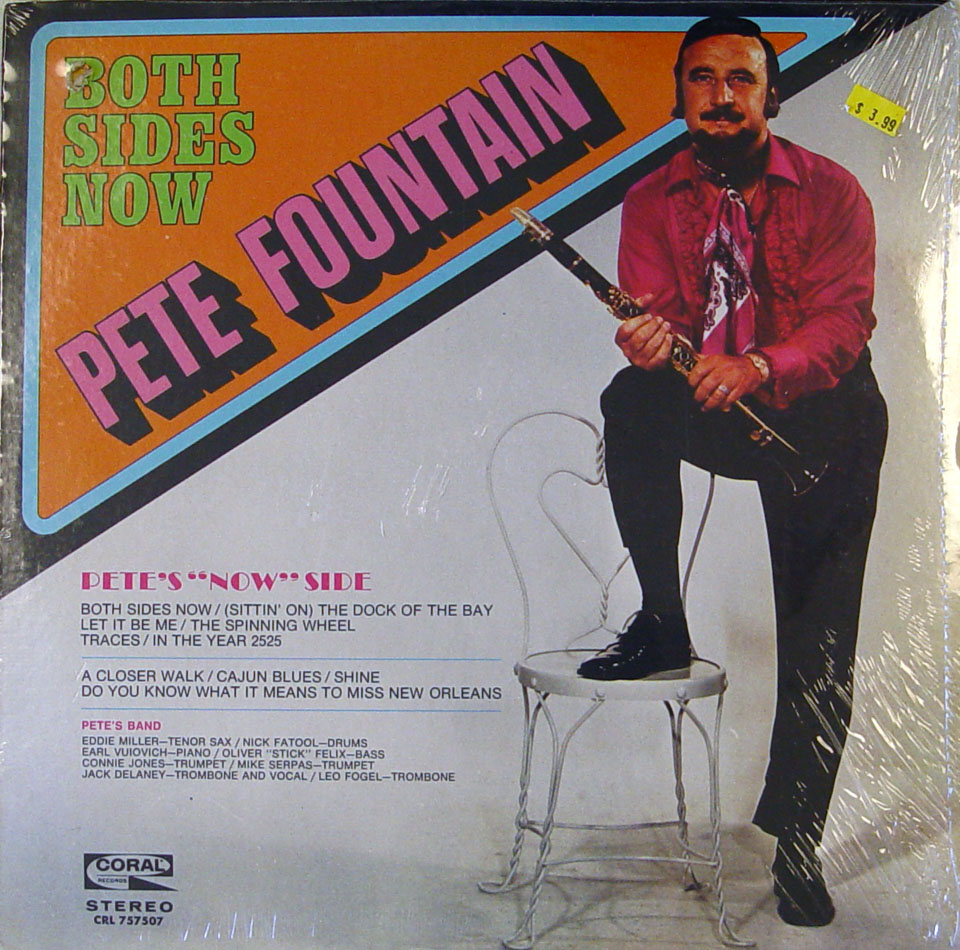 "Pete Fountain Vinyl 12"" (New)"