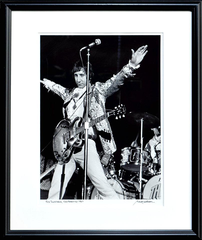 Pete Townshend Framed Fine Art Print