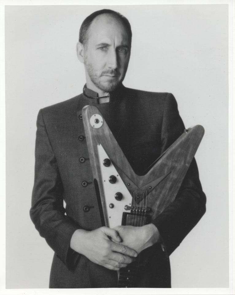 Pete Townshend Vintage Print