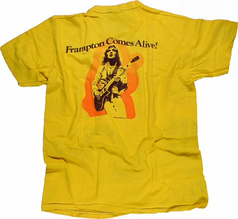 Peter Frampton Men's Vintage T-Shirt reverse side
