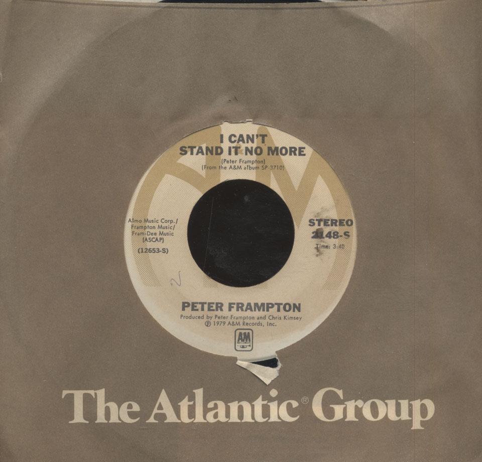 """Peter Frampton Vinyl 7"""" (Used)"""