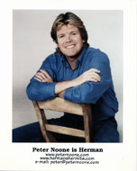 Peter Noone Promo Print